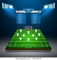 soccer field templates soccer field vector photo free trial bigstock
