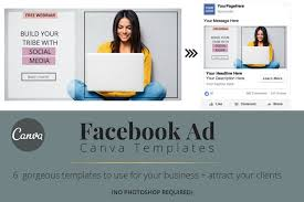 Ad Page Templates 5 Done For You Health Fitness Facebook Ad Templates