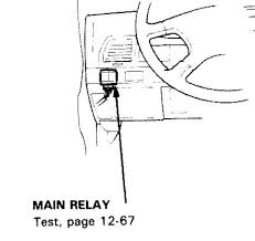 accord fuel pump relay image honda accord forum honda 1989 accord fuel pump relay image 3rd gen main relay location