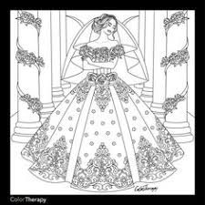 Wedding Dress Coloring Pages Beautiful Stock Clothes Coloring Page