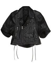 sel black gold biker capelet women clothing sel black gold leather jacket premier fashion designer