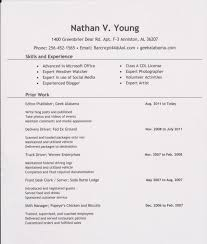 Resume Resume Page Layout