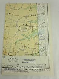 Yellowstone River World Aeronautical Chart Map 1 1 000 000