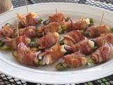bacon wrapped shrimp with jalapenos  i like it hot