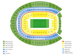 Oakland Raiders Seating Chart Oakland Raiders At Denver Broncos Tickets Broncos Stadium