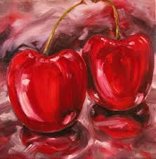 FINT103 Oil Painting 4: Monochromatic Red by BrielleCoppola ...