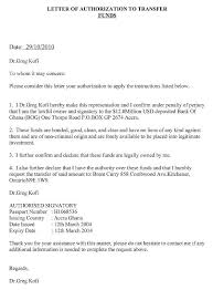 Authorization Letter To Claim Writing An Authorization