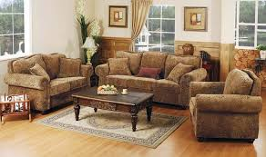 complete living room sets. rustic indian furniture   printed microfiber living room set with studded accents complete sets