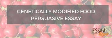 genetically modified food persuasive essay pros cons example genetically modified food persuasive essay