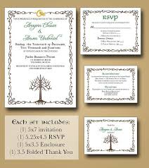 best 25 box wedding invitations ideas only on pinterest box Pagan Wedding Invitation Wording lord of the rings wedding invitations part one Wording Invitation Formal Wedding