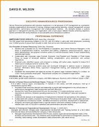 Human Resources Manager Resume Hr Cover Letter Entry Level