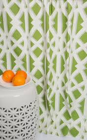 beautiful springy color window panels modern lime green curtains green and white by thefabricaffair