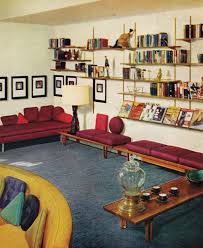 1950s interior design. 60s Living Room | Remarkably Retro, 1950s Design Interior G
