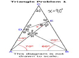 world s hardest easy geometry problem using only elementary where s your god now its