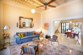 Mexican Living Room Furniture A Stylishly Renovated Mexican Home Combines Contemporary And