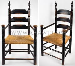 while the chair assumes the basic configuration of archetypical new london county turned chairs it exhibits subtle structural and ornamental variations