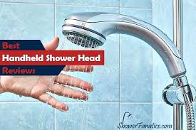 top rated hand held shower heads best handheld for low water pressure