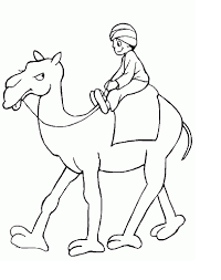 Small Picture Coloring Pages Dromedary Arabian Camel Coloring Page Free