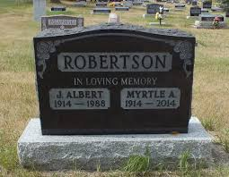 Myrtle Alberta Phair Robertson (1914-2014) - Find A Grave Memorial