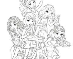 Small Picture Lego Friends Coloring Page Images Pictures Becuo Lego Friends