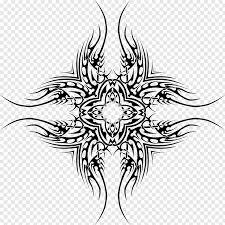 Design Black And White Art Tribal Art Drawing Design Png Pngwave