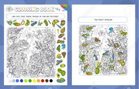 Like us on facebook for a chance to win a free hidden treasures book! Coloring Book Game For Kids And Adults Puzzle Hidden Items Royalty Free Cliparts Vectors And Stock Illustration Image 149121072