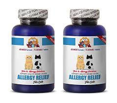 Amazon.com : PETS HEALTH SOLUTION allergy tablets for cats - PREMIUM ...