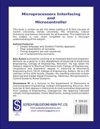 Microprocessor Interfacing And Microcontroller