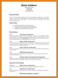 6+ How To Do A Cv Uk | Applicationleter.com