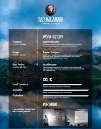 Modern Resume App Visualcv Online Cv Builder Professional Resume Maker