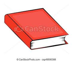 closed book cartoon vector symbol icon design beautiful ilration isolated on white background