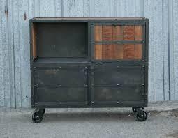 Industrial Bar Cabinet Combine 9 Industrial Furniture Industrial Bar Cart Liquor Cabinet