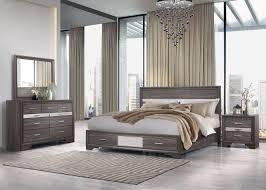 seville storage king bedroom set 4pcs