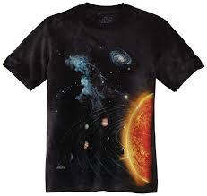 The Mountain Little Boys' Youth Solar System Shirt ... - Amazon.com