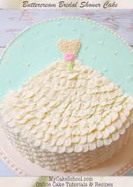 Wedding Dress In Buttercream A Free Cake Decorating Tutorial