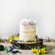 Naked Coconut Tres Leches Cake Wedding Idea Of The Day Lonny