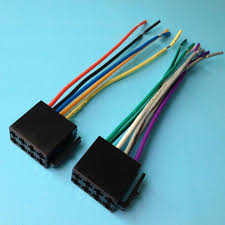 universal iso wire harness female adapter connector cable radio Car Stereo Wiring Harness Adapters universal iso wire harness female adapter connector cable radio wiring connector adapter plug kit for auto car stereo system auto body parts cheap auto body