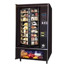 Used Cold Food Vending Machines Adorable National 48 Shoppertron Cold Food Vending Machine
