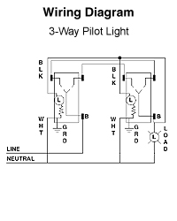 wiring diagram for three way switches pilot light electrical wiring diagram for three way switches pilot light electrical diy chatroom home improvement forum
