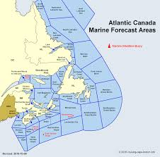 Marine Weather Forecast Information For Atlantic Canada