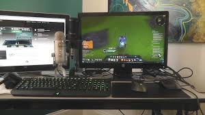dual pc streaming and gaming setup worst cable management ever vlog you