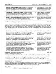 Human Resources Resume Examples Curriculum Vitae Director No