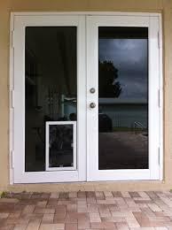 patio door with dog door benefit