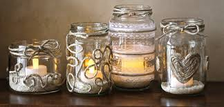 Glass Jar Table Decorations Best Wedding Decorations With Mason Jars Ideas Styles Ideas 85