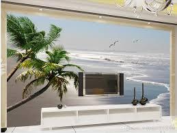 Home Schlafzimmer Dekoration Hd Meer Schöne Silber Strand Landschaft Wandbild 3d Wallpaper 3d Tapeten Für Tv Hintergrund