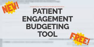 How To Use Excel For A Budget How To Use Chis New Public And Patient Engagement Budgeting