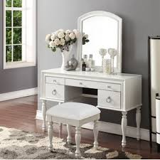 Off White Bedroom Vanity Set | Wayfair