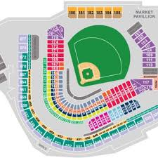 Progressive Field Seating Chart With Seat Numbers Reliant Stadium Seats Online Charts Collection