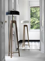 contemporary floor lighting. View In Gallery Using Floor Lamps With Lamp Shades Opposite Hues Contemporary Lighting O