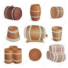 storage oak wine barrels. Row Of Wooden Barrels Tawny Portwine In Cellar. Vintage Old Style Oak Storage Wine